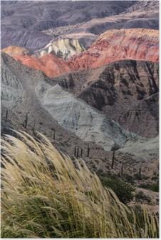 Poster Montañas de Salta, Argentinien