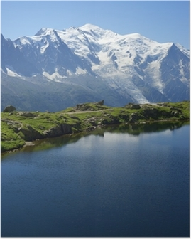 Poster Monte Bianco