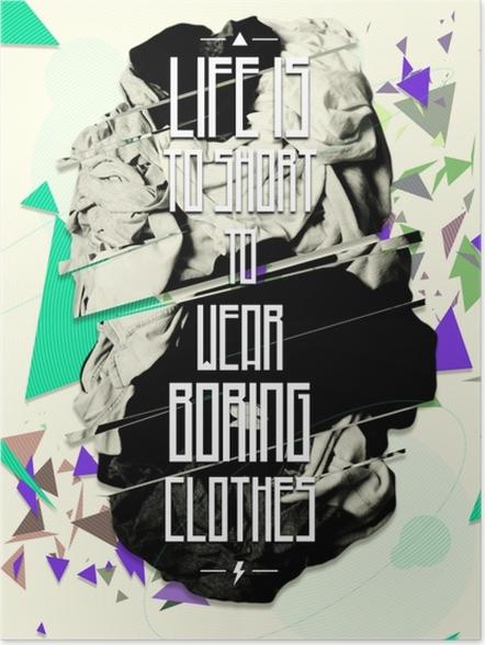 Poster Motivierend Poster -