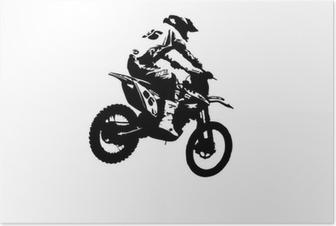 Poster Motocross-Jumper