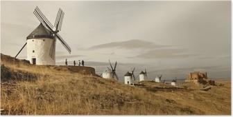 Poster Mulini a vento - spagnolo Consuegra