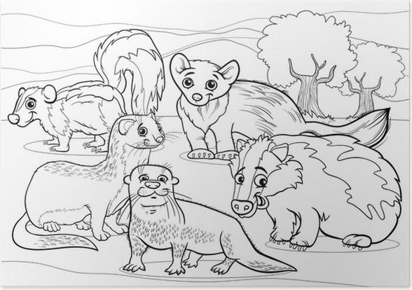Berühmt Malvorlagen Cartoon Tiere Ideen - Ideen färben - blsbooks.com