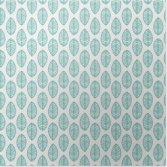 Poster Nahtlose Muster mit Blättern