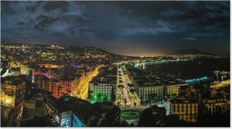 Poster Napoli Panorama