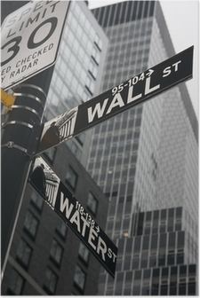 Poster New York - Wall Street