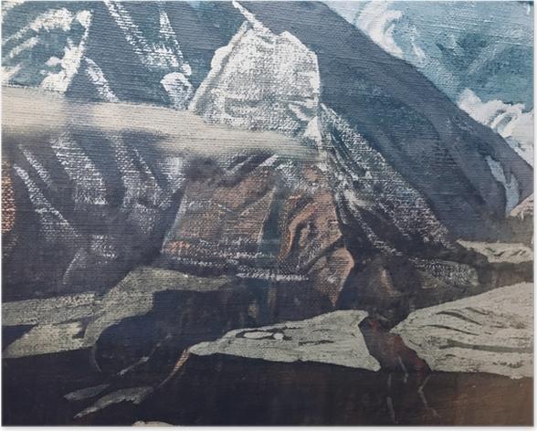 Poster Nikolaj Konstantinovič Roerich - L'Himalaya - Nicholas Roerich