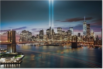 Poster Omaggio a memoriale Light on 11 Set 2014