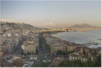 Poster Panorama di Napoli