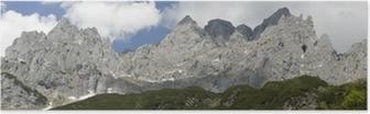 Poster Panorama vom Wilden Kaiser