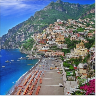 Poster Panoramico Italia - Positano