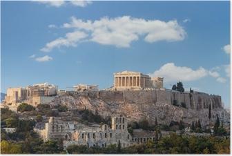 Poster Parthenon, Akropolis - Athen, Griechenland