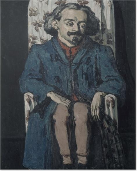 Poster Paul Cézanne - Achille Emperaire (Porträt) - Reproduktion
