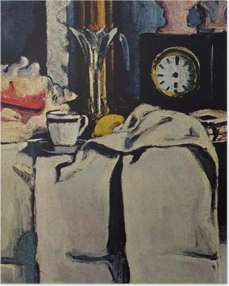 Poster Paul Cézanne - Die schwarze Marmoruhr - Reproduktion