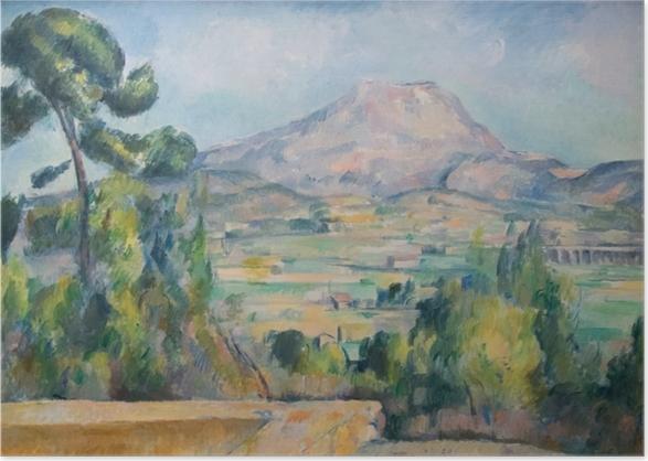 Poster Paul Cézanne - Montagne Sainte-Victoire - Reproduktion