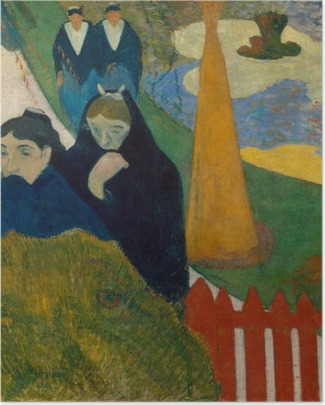 Poster Paul Gauguin - Arlésiennes (Mistral) - Reproduktion