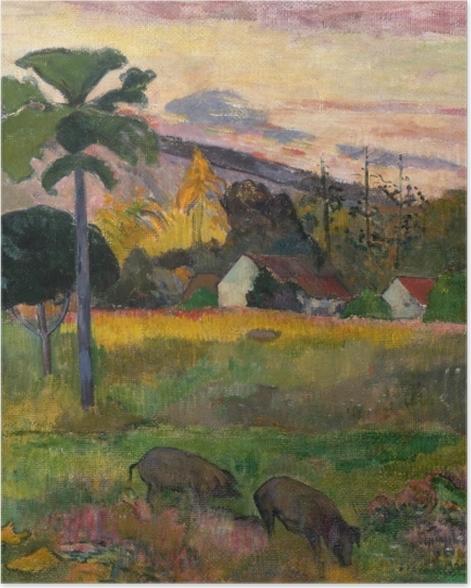 Poster Paul Gauguin - Haere Mai (Komm her) - Reproduktion