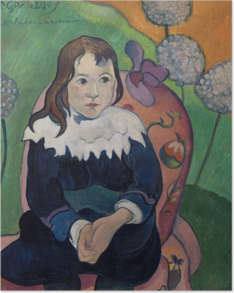 Poster Paul Gauguin - M. Loulou - Reproduktion