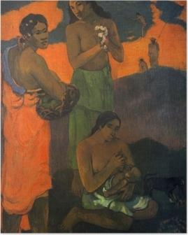 Poster Paul Gauguin - Maternità