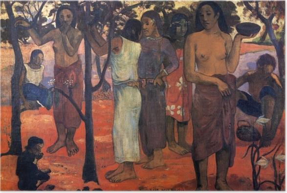 Poster Paul Gauguin - Nave Nave Mahana (Delightful Giorno) - Riproduzioni