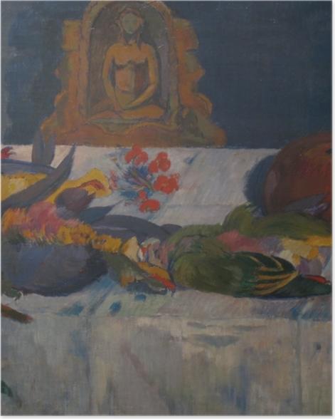 Poster Paul Gauguin - Stillleben mit Papageien - Reproduktion