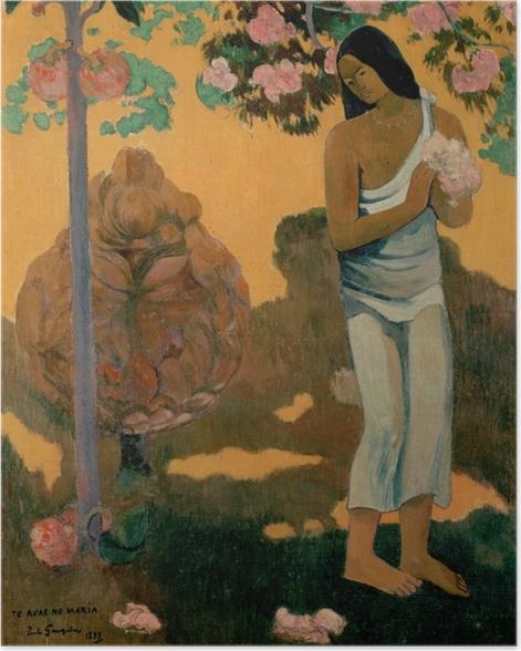 Poster Paul Gauguin - Te avae no Maria (Der Marienmonat) - Reproduktion