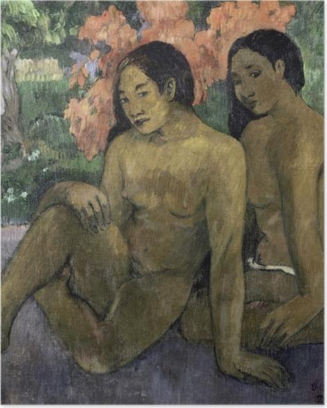 Poster Paul Gauguin - Und das Gold ihrer Körper - Reproduktion