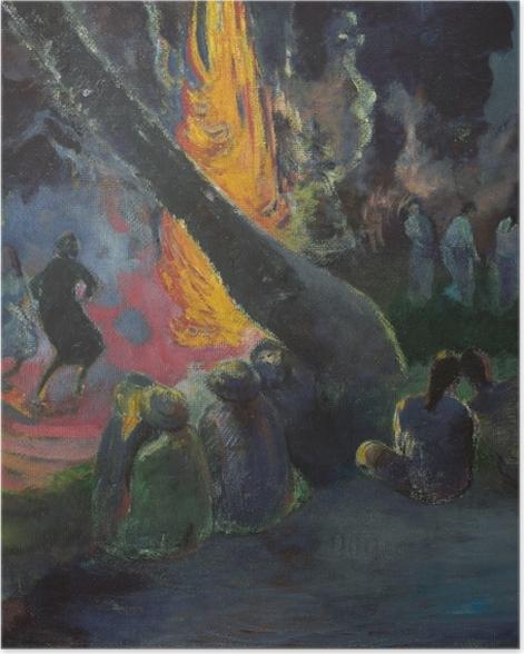 Poster Paul Gauguin - Upa Upa (Der Feuertanz) - Reproduktion