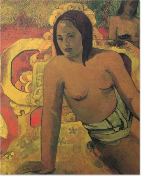 Poster Paul Gauguin - Vairumati - Reproduktion