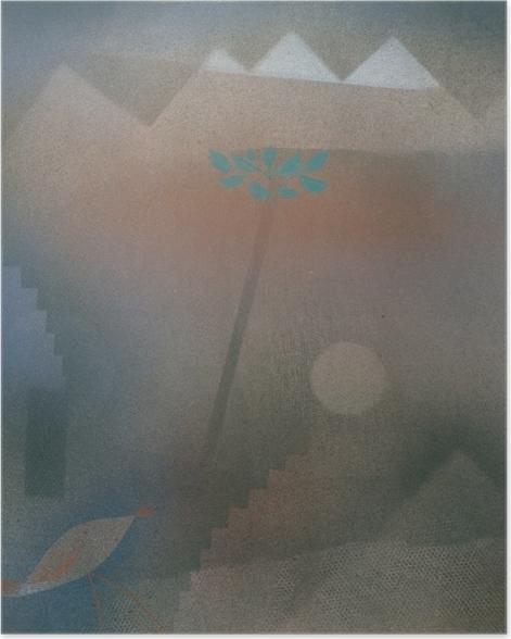 Poster Paul Klee - Abwandernder Vogel - Reproduktion