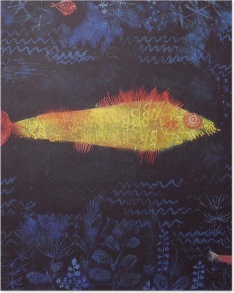 Poster Paul Klee - Der Goldfisch - Reproduktion