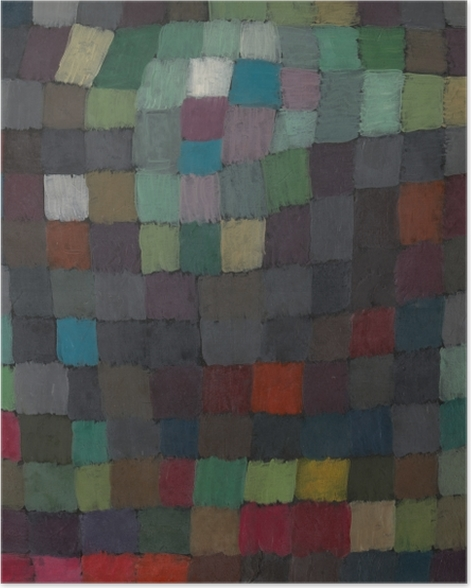 Poster Paul Klee - Polyphonie - Reproduktion