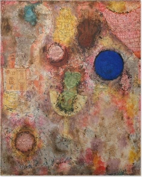 Poster Paul Klee - Zaubergarten - Reproduktion