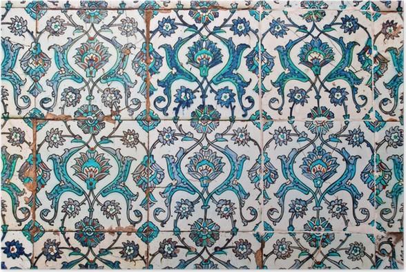 Piastrelle bagno stile arabo. adesivi per piastrelle vintage per