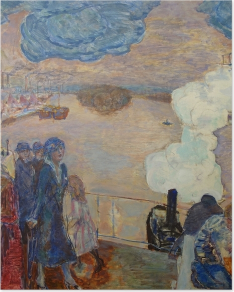 Poster Pierre Bonnard - Arbeiter - Reproductions