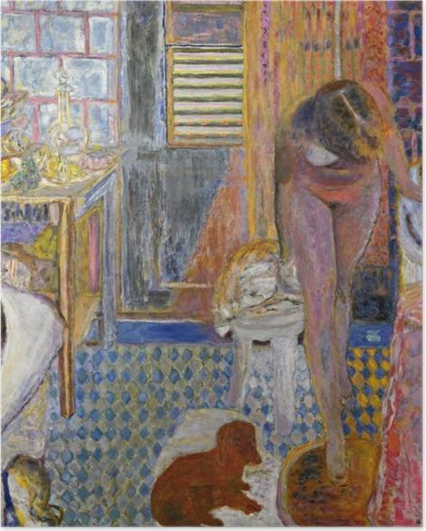 Poster Pierre Bonnard - Das Bad - Reproductions