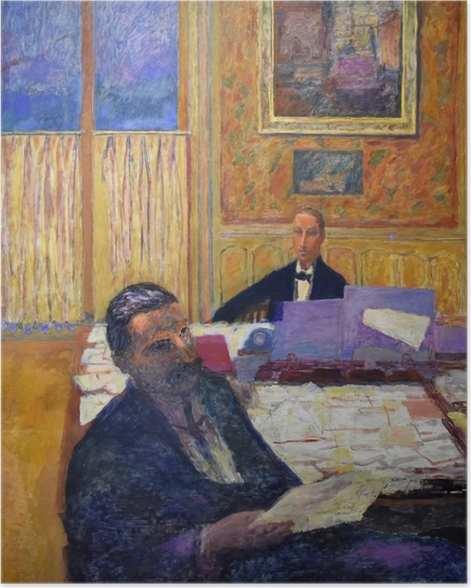 Poster Pierre Bonnard - Die Brüder Bernheim-Jeune - Reproductions