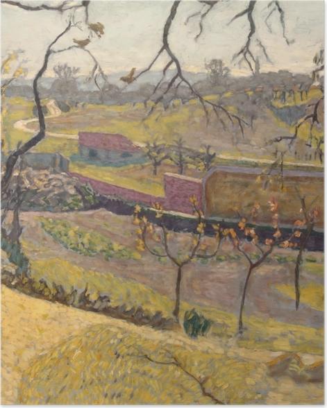 Poster Pierre Bonnard - Früher Frühling. Kleine Faune - Reproductions