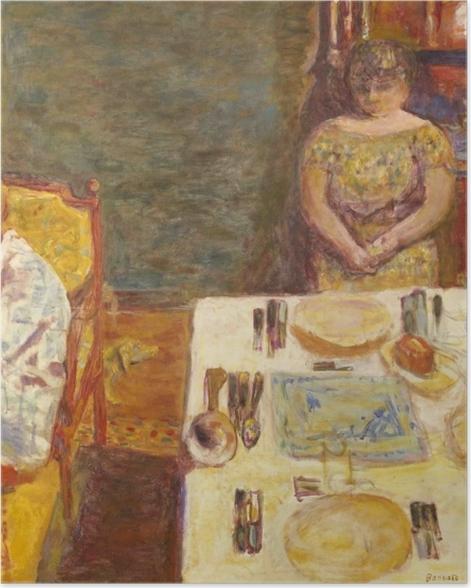 Poster Pierre Bonnard - Vor dem Mittagessen - Reproductions