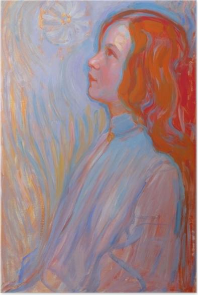 Poster Piet Mondrian - Devotion - Reproduktion