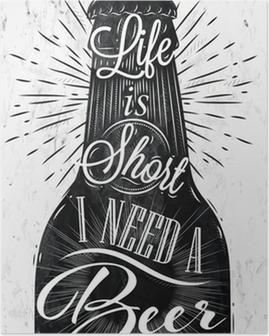 Poster Poster birra epoca