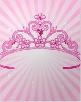 Poster Prinzessin Krone