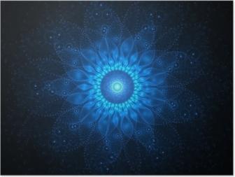 Poster Raum Mandala