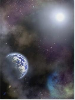 Poster Raum-Szenario