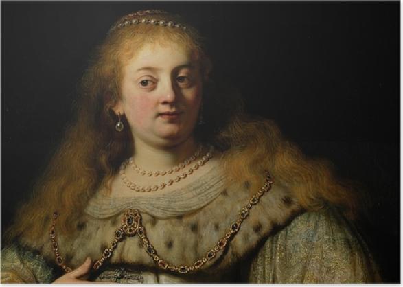Poster Rembrandt - Artemisia - Reproduktion