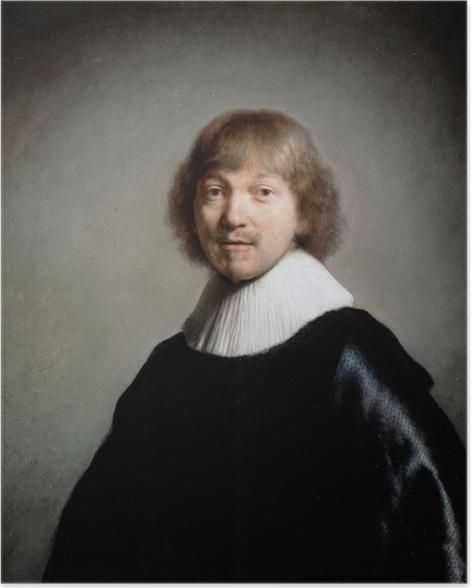 Poster Rembrandt - Porträt von Jacques de Gheyn III - Reproduktion