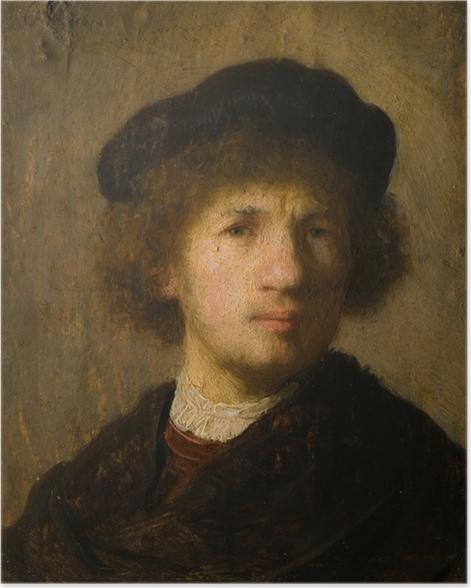 Poster Rembrandt - Selbstporträt - Reproduktion