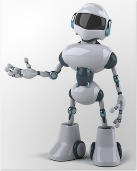 Poster Roboter