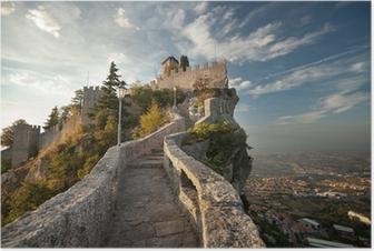 Poster Rocca della Guaita, Castello di San Marino