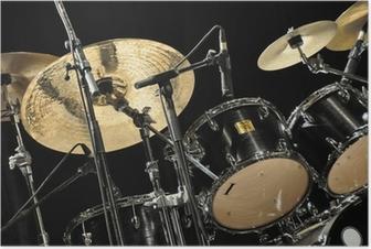 Poster Schlagzeug