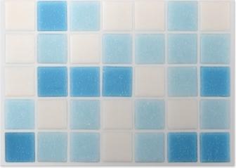 Piastrelle bagno azzurre e bianche interesting awesome for Piastrelle esagonali bricoman